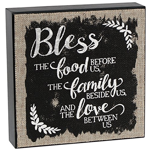 bless-the-food-family-and-love-8-x-8-burlap-and-wood-bock-table-sign-plaque