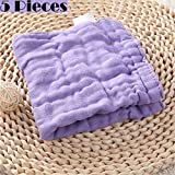 Baby Washcloths Bath Towels,6 Layers,Water Absorbent,Baby...