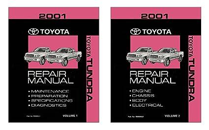 amazon com bishko automotive literature 2001 toyota tundra shop rh amazon com Toyota Tundra Running Boards Toyota Tundra Fuse Box Diagram
