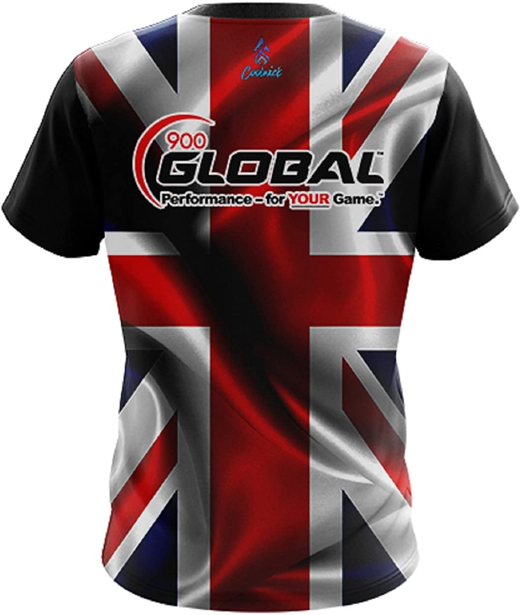 CoolWick 900 Global Mens British Flag Bowling Jersey