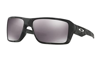 a140803f5c502 Image Unavailable. Image not available for. Color  Oakley Double Edge Sunglasses  Black Camo with Prizm Black Iridium Lens ...