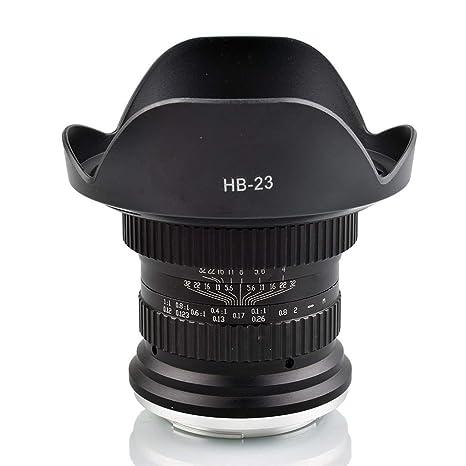 Xinda - Lente macro para cámaras réflex digitales Nikon (15 mm, F ...