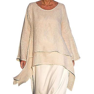 Nuovi Prodotti 4582a 99e4a Ginli Bluse e Camicie Donna Bluse Eleganti Donna Bluse Donna ...
