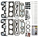 cciyu Engine Head Gasket Set with Bolts fit for