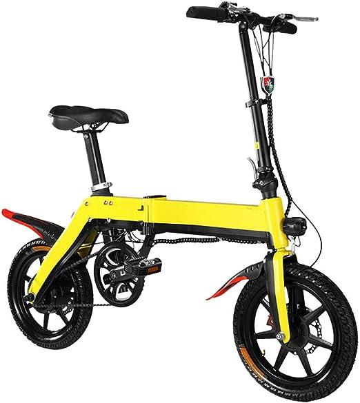 FJW Unisexo Mini Bicicletas Eléctricas Moda y Smart 36V 350W ...