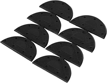 uxcell Rubber Heel for Shoes Boots Sole