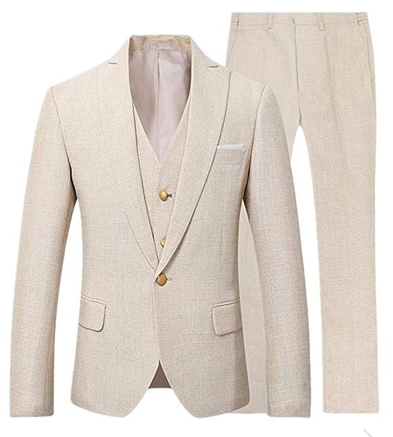 Amazon.com: Suxiaoxi - Traje de esmoquin para hombre, estilo ...