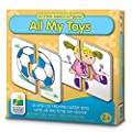The Learning Journey My First Match It - All My Toys - Self-Correcting Matching Puzzles for Toddlers and Preschoolers