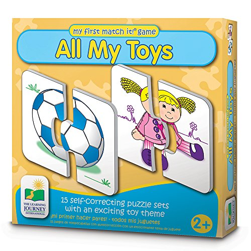 61gBFwJvkXL - The Learning Journey My First Match It - All My Toys - Self-Correcting Matching Puzzles for Toddlers and Preschoolers