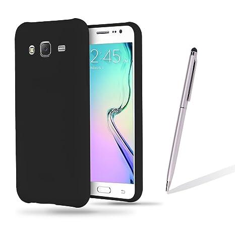 Funda Samsung J5 2015, CaseLover Ultra Delgado Suave TPU Carcasa para Samsung Galaxy J5 2015 J500 (5.0Pulgadas) Flexible Silicona Parachoques Gel ...