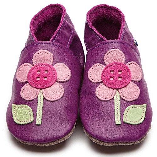 Inch Blue - Patucos para niño Violeta Traube Child Large