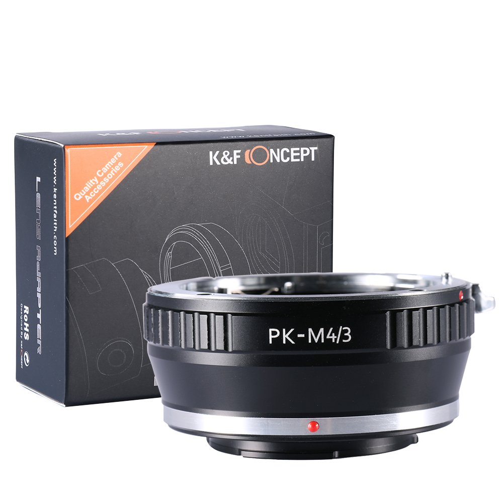 Pentax PK Lens to Micro 4/3 M43 Mount Adapter Ring Olympus Panasonic PK-M4/3 Shenzhen Zhuoer Photograph KF06.089