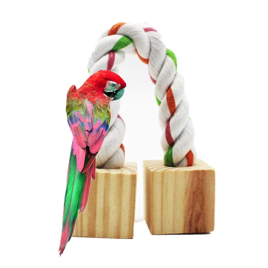 Namgiy Juguete Colgante para Pájaros Pájaros, Loro, Cacatúa, Jaula de Pájaros, 20 x 3 cm