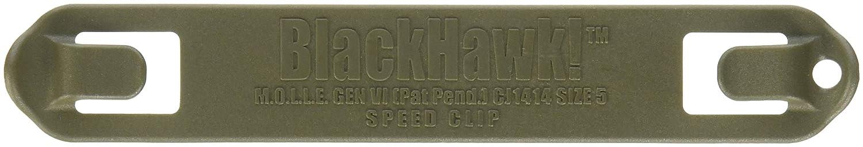 ブラックホーク スピードクリップ 6本 B000VU3790 オリーブドラブ 5インチ