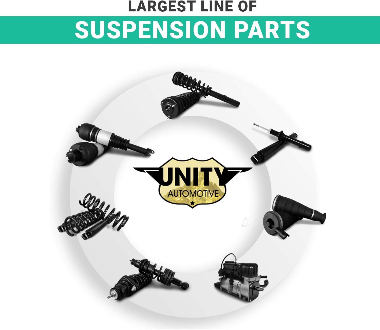 UNITY AUTOMOTIVE 11060 Front Complete Strut Assembly 2006-2013 Audi A3