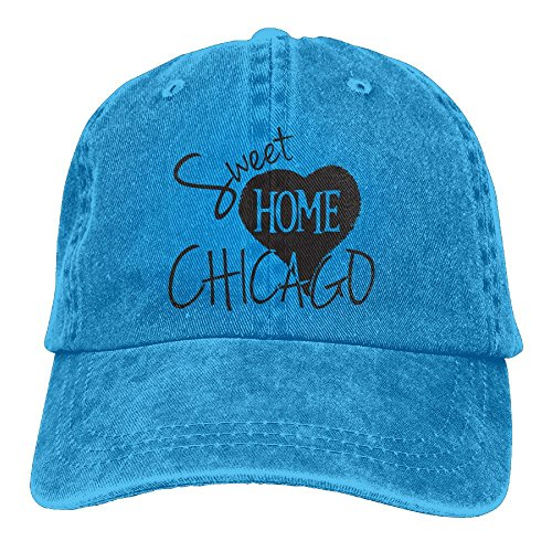 - Arsmt Sweet Home Chicago Denim Hat Adjustable Men's Snapback Baseball Hats