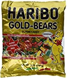 Haribo Gummi Candy, Gold-Bears, 3 lb