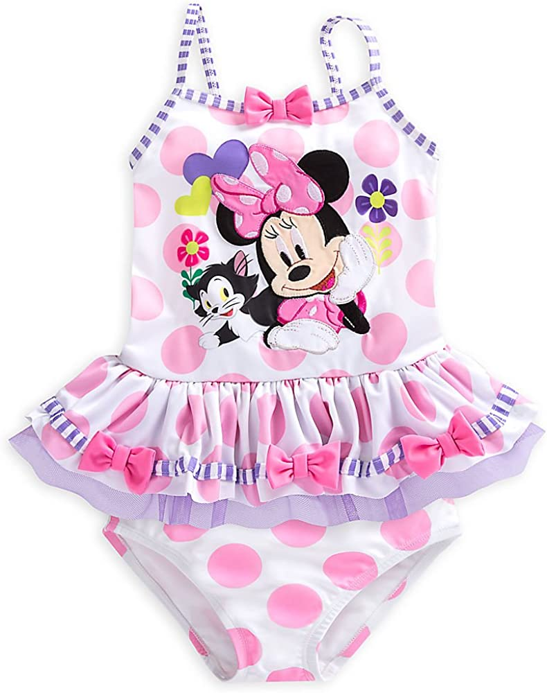 Minnie Mouse Disney Two-Piece Swimsuit For Baby