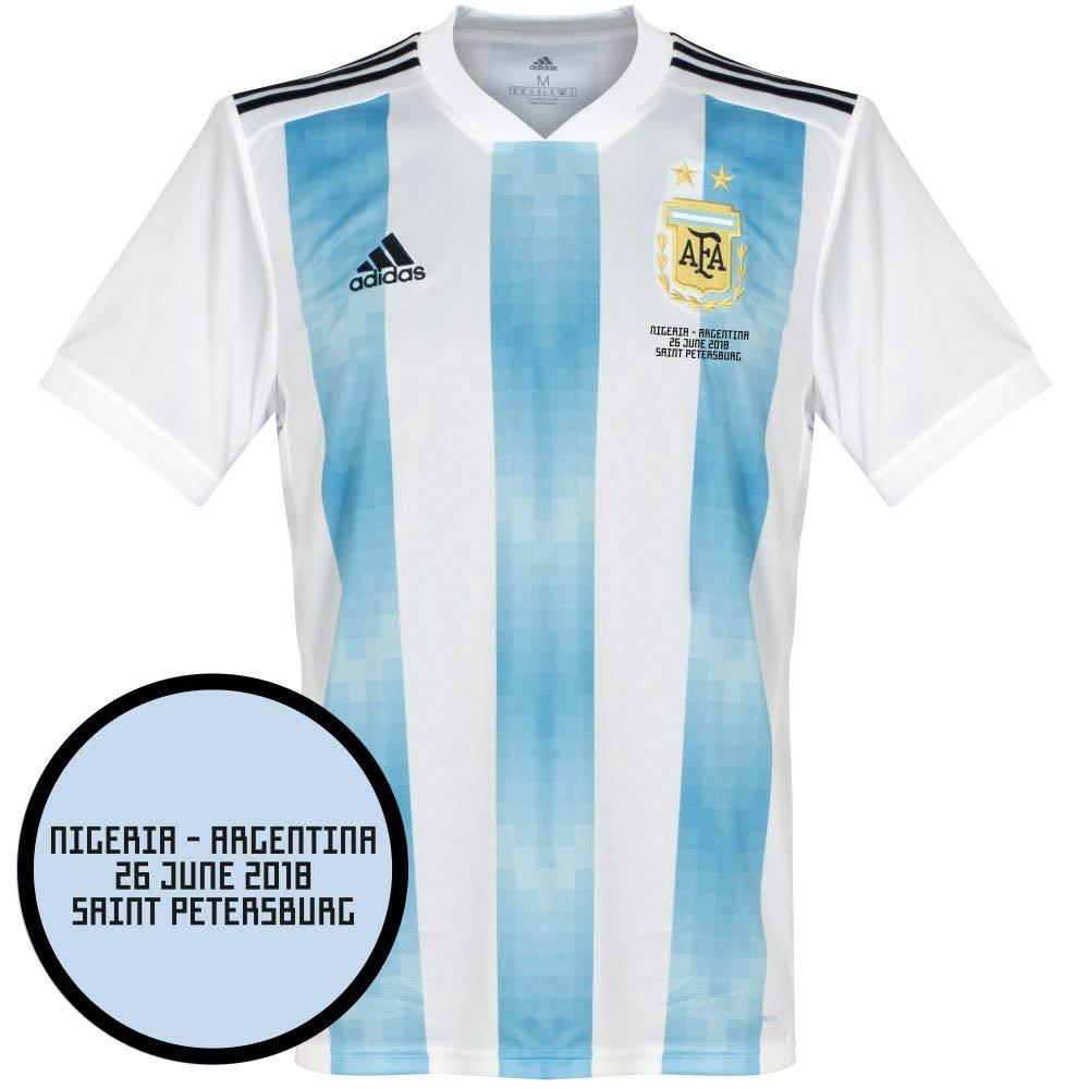 Argentinien Home Trikot 2018 2019 inkl vs Nigeria WM Druck