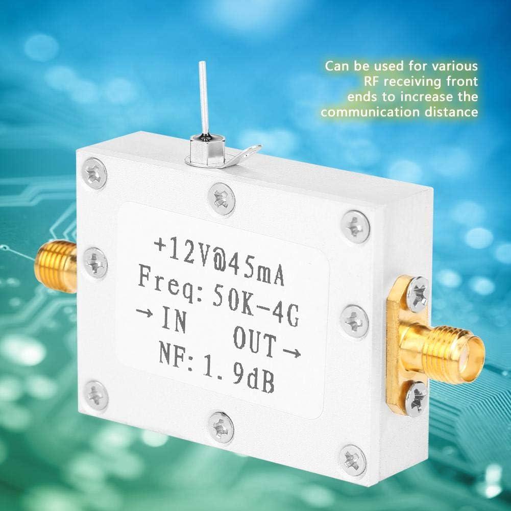 Bare Board Hochfrequenz Verst/ärker LNA Low Noise 50K-4GHZ High Gain 25DB @ 0,8G mit Ebenheit