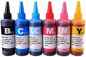 PXNH 6 Color X100ml Botella de tinta Universal Compatible ...