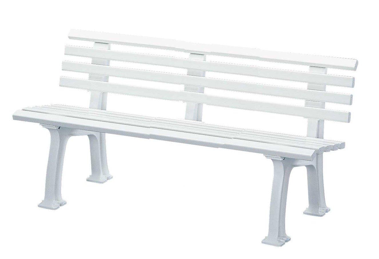 blome bank sylt 3 sitzer aus kunststoff weiss g nstig kaufen. Black Bedroom Furniture Sets. Home Design Ideas