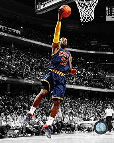 "LeBron James Cleveland Cavaliers 2015 NBA Spotlight Action Photo (Size: 8"" x 10"")"