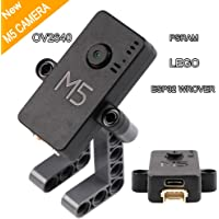 MakerFocus ESP32 Camera Module,Including OV2640 Camera,ESP32 WROVER and PSRAM Flash, Type-C Grove Port Mini Camera Development Board Building Brick IOT DIY