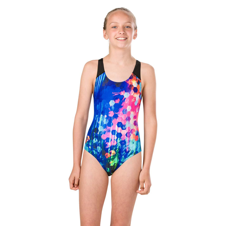 Costume da Bagno Bambina Speedo Popflash Placement Digital Spashback