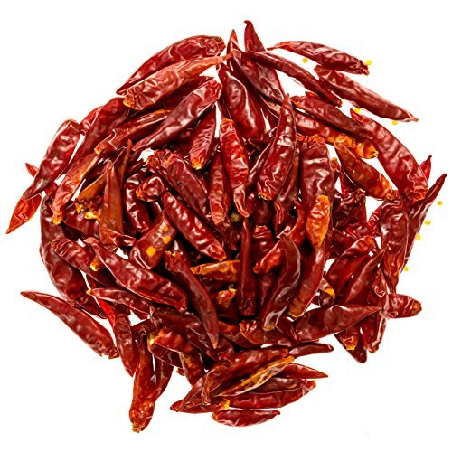 Soeos Premium Chinese Dried Red Chili Peppers - Making Hot Chili Oil & Sichuan Chongqing Hotpot -4 Oz (Whole (Chinese Hot Oil)
