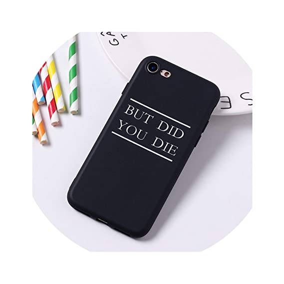 Amazon.com: Cartoon Color Back Cover Letter Quote Soft Phone ...