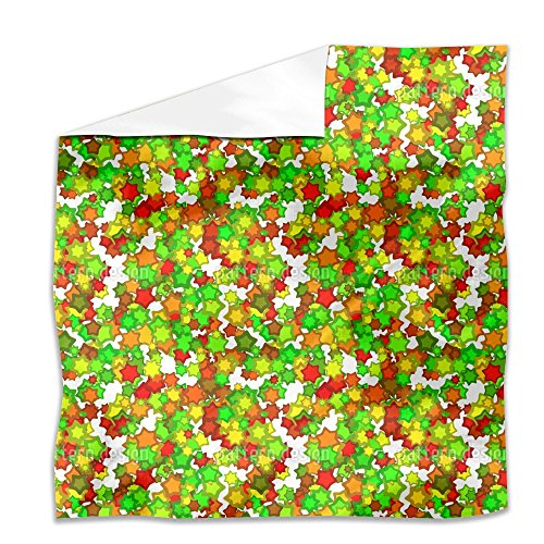 Colorful Star Dance Flat Sheet: Queen Luxury Microfiber, Soft, Breathable by uneekee (Image #2)