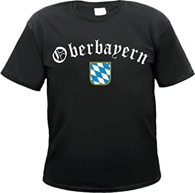Oberbayern Herren T Shirt Bayern Bavaria: : Bekleidung
