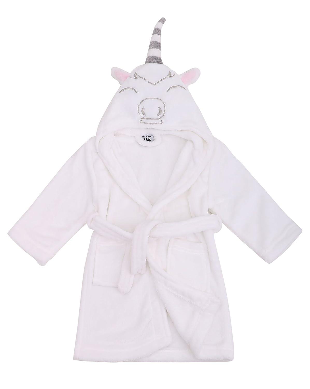 Arctic Paw Boys/Girls' Plush Soft Hooded Bathrobe Theme Party Costume Robe