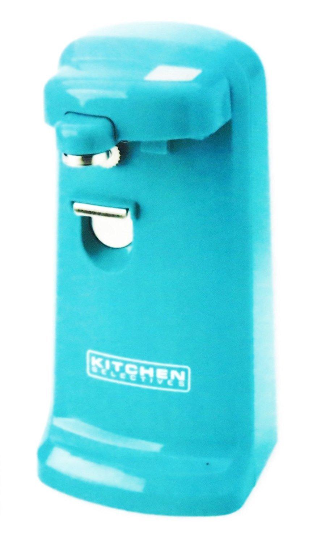 Kitchen Selectives Colors Aqua Teal Electric Can Opener CN-90TQ
