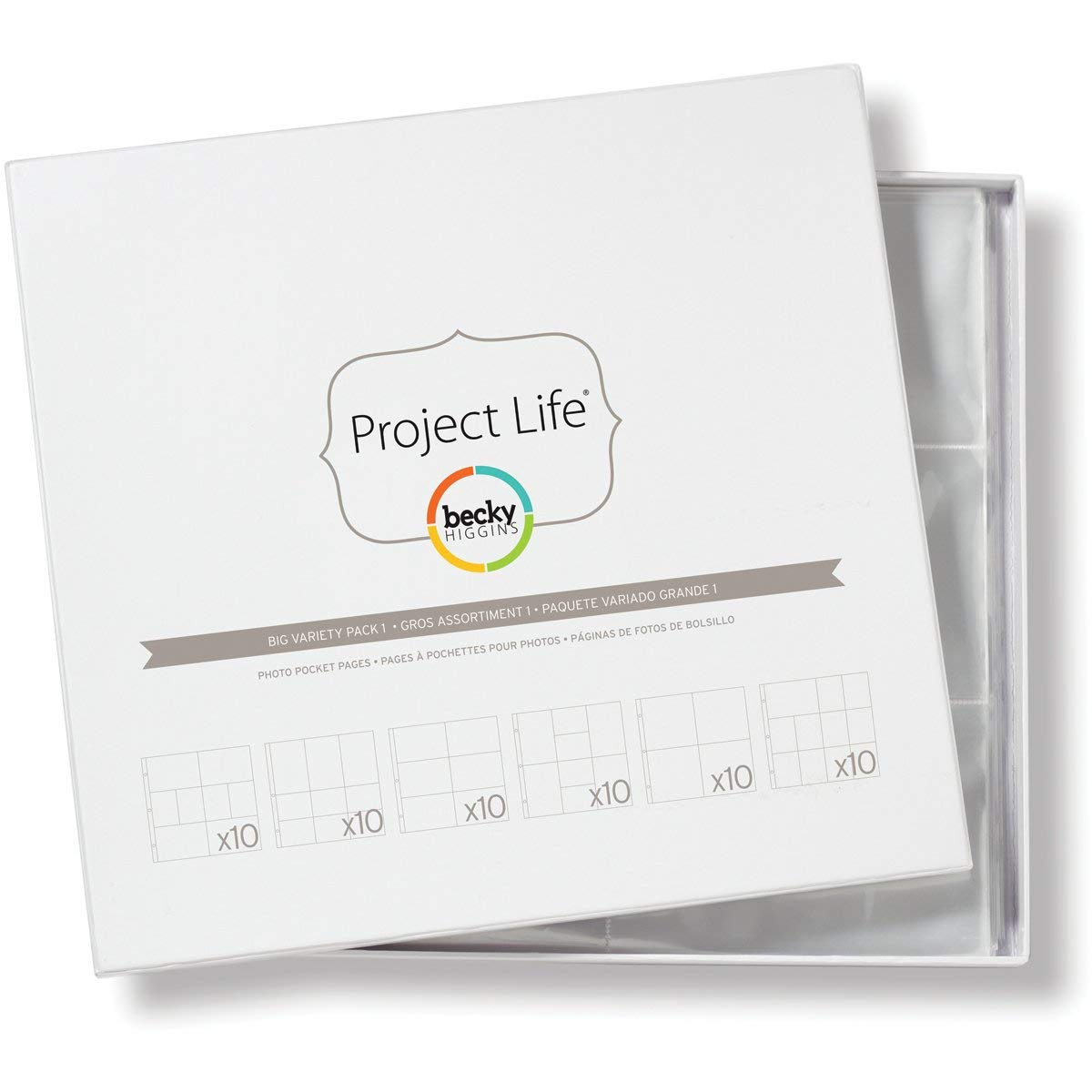Project Life - Big Variety Pack 1 Photo Pocket Pages by Becky Higgins (Image #1)