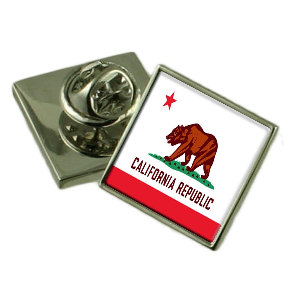 送料無料 カリフォルニアの旗ラペルピンバッジシルバー 製 925 製 B01N248WZ9 925 B01N248WZ9, オフィスキングダム:c2b6b96f --- arianechie.dominiotemporario.com
