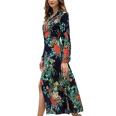 Sylar Vestidos Mujer Casual Verano Largo Falda, Moda Estilo ...