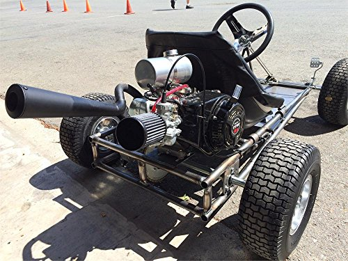 MODERN FEATURES - POWERFUL And Fast Go Kart Road Rocket Gokart - Import It All