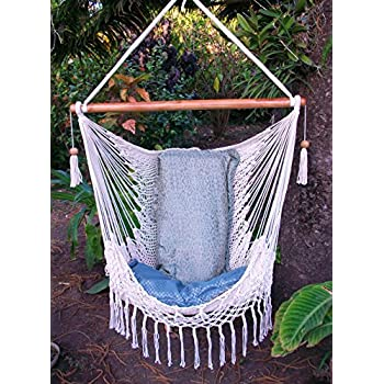 s garden swing hammock au chair macrame patio reading itm hanging yard relaxing