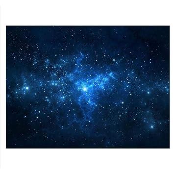Cartel de Tanque de Peces Acuario Fondo Telón de Fondo de PVC Adhesivo Estrella de Polvo Cielo Estrellado Papel de Decoración Calcomanía Socialme-EU(91 ...