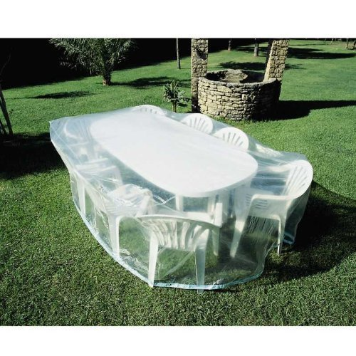 Housse de protection / bâche pour salon et table de jardin: Amazon ...
