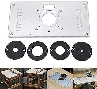 router Table Insert Plate, insertos de mesa para router de ...