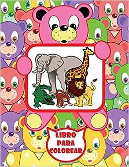 Libro Para Colorear Para Bebés Spanish Edition Rainbow