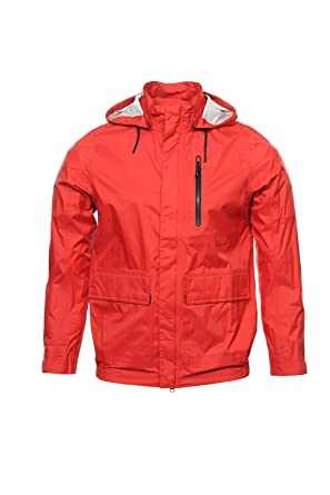 Nike Sportswear Red Rain Jacket, Size XLarge at Amazon Men's ...