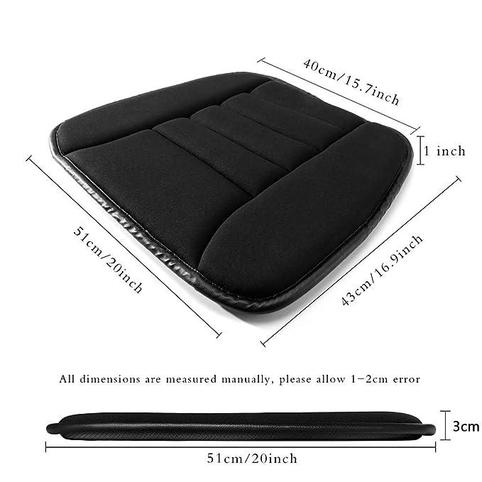 Amazon.com: YSLYGHY - Cojín para asiento de coche, asiento ...