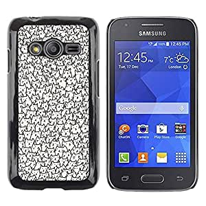 rígido protector delgado Shell Prima Delgada Casa Carcasa Funda Case Bandera Cover Armor para Samsung Galaxy Ace 4 G313 SM-G313F /Faces Wallpaper Never Ending/ STRONG