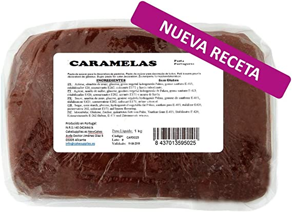 Caramelas Pasta Fondant Portuguesa Amarilla: Fácil de Usar ...
