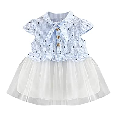 58a1ae7f74 Amazon.com  Infant Girls Overall Dress
