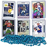 Tom Brady Football Card Bundle, Set of 6 Assorted